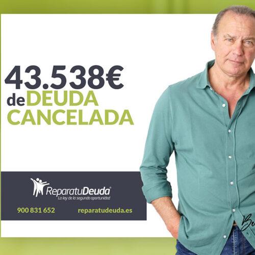 Repara tu Deuda cancela 43.538 € con deuda pública en Guardamar del Segura (Alicante) con la Ley de la Segunda Oportunidad