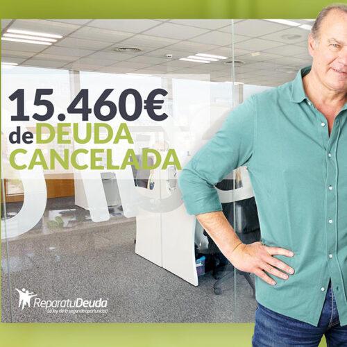 Repara tu Deuda cancela 15.460 € con deuda pública en Tenerife (Canarias) con la Ley de la Segunda Oportunidad