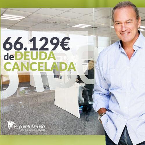 Repara tu Deuda Abogados cancela 66.129 € en Guadalajara (Castilla-La Mancha) con la Ley de Segunda Oportunidad