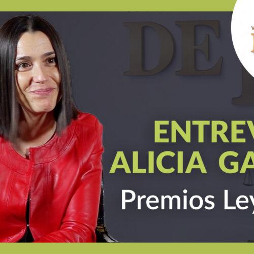 Entrevista a Alicia García por el Premio Ley 2021 en la categoría Ley de la Segunda Oportunidad