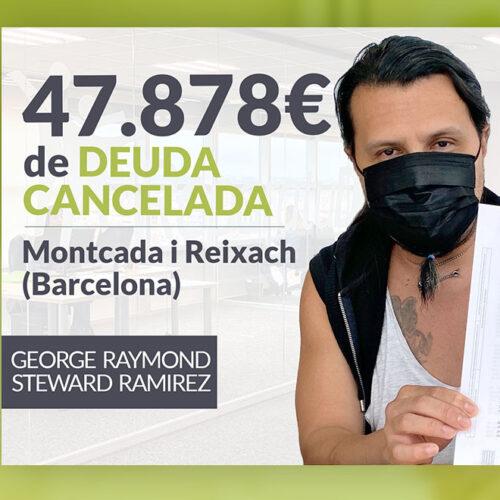 Repara tu Deuda Abogados cancela 47.858€ en Montcada i Reixach (Barcelona) con la Ley de Segunda Oportunidad