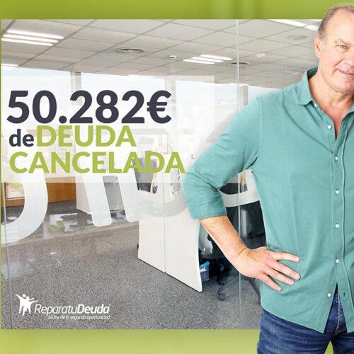 Repara tu Deuda abogados cancela 50.282 € en Barcelona con la Ley de Segunda Oportunidad