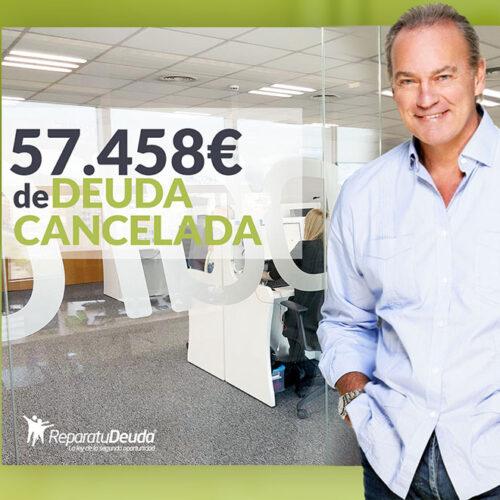 Repara tu Deuda Abogados cancela 57.458€ en Fuenlabrada (Madrid) gracias a la Ley de Segunda Oportunidad