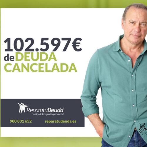 Repara tu Deuda abogados cancela 102.597€ en San Vicente del Raspeig (Alicante) con la Ley de Segunda Oportunidad