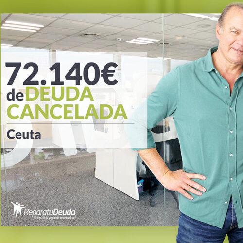 Repara tu Deuda abogados cancela 72.140 € en Ceuta con la Ley de Segunda Oportunidad