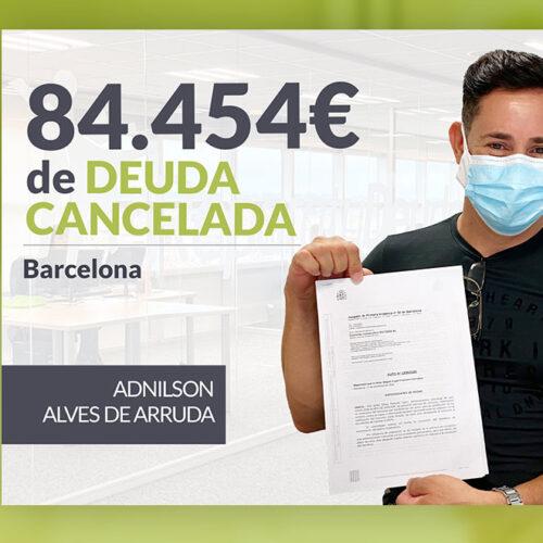 Repara tu Deuda Abogados cancela 84.454 € en Barcelona (Cataluña) con la Ley de Segunda Oportunidad
