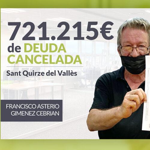 Repara tu Deuda Abogados cancela 721.215 € en Sant Quirze del Vallès (Barcelona) con la Ley de Segunda Oportunidad