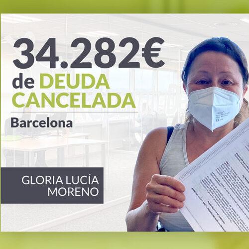 Repara tu Deuda Abogados cancela 34.282 € en Barcelona (Cataluña) con la Ley de Segunda Oportunidad