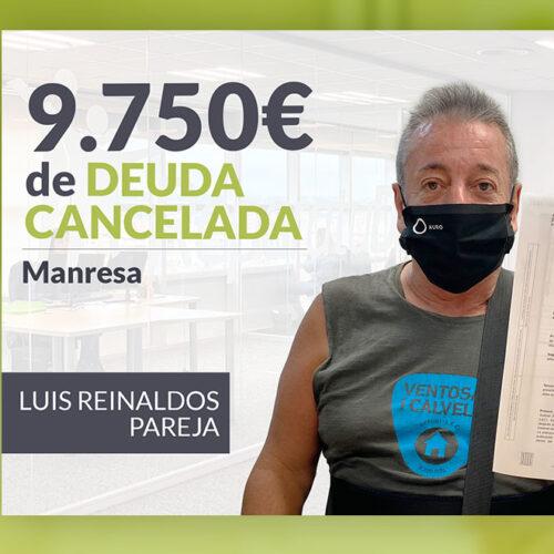 Repara tu Deuda Abogados cancela 9.750 € en Manresa (Bages) con la Ley de Segunda Oportunidad