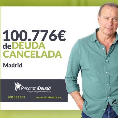 Repara tu Deuda Abogados cancela 100.776 € a un matrimonio de Madrid con la Ley de Segunda Oportunidad