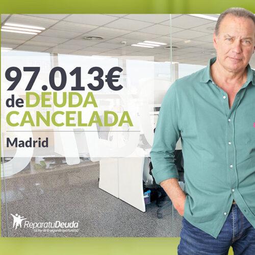 Repara tu Deuda Abogados cancela 97.013 € a un matrimonio de Madrid con la Ley de Segunda Oportunidad