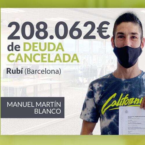 Repara tu Deuda Abogados cancela 208.062 € en Rubí (Barcelona) con la Ley de Segunda Oportunidad