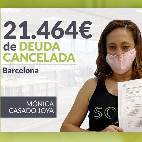Repara tu Deuda Abogados cancela 21.464 € en Barcelona (Cataluña) con la Ley de la Segunda Oportunidad