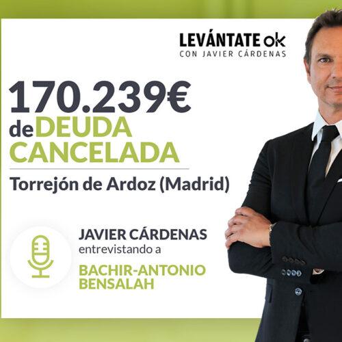 Javier Cárdenas entrevista a un cliente de Repara tu Deuda Abogados, líderes en la Ley de la Segunda Oportunidad